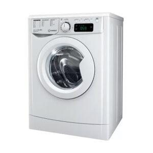 Lavadora Indesit EWE 81283 W EU, 8kg, 1200rpm, 6 programas, Balance de agua Plus, A+++, Blanco