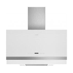 Campana SIEMENS LC97FVW20 decorativa de pared, 90 cm, cristal blanco